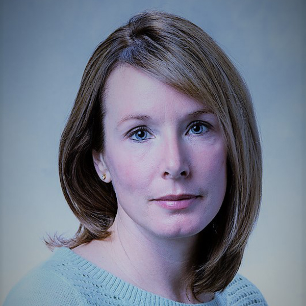 Studio portrait of the Director of Development Emily Wingfield